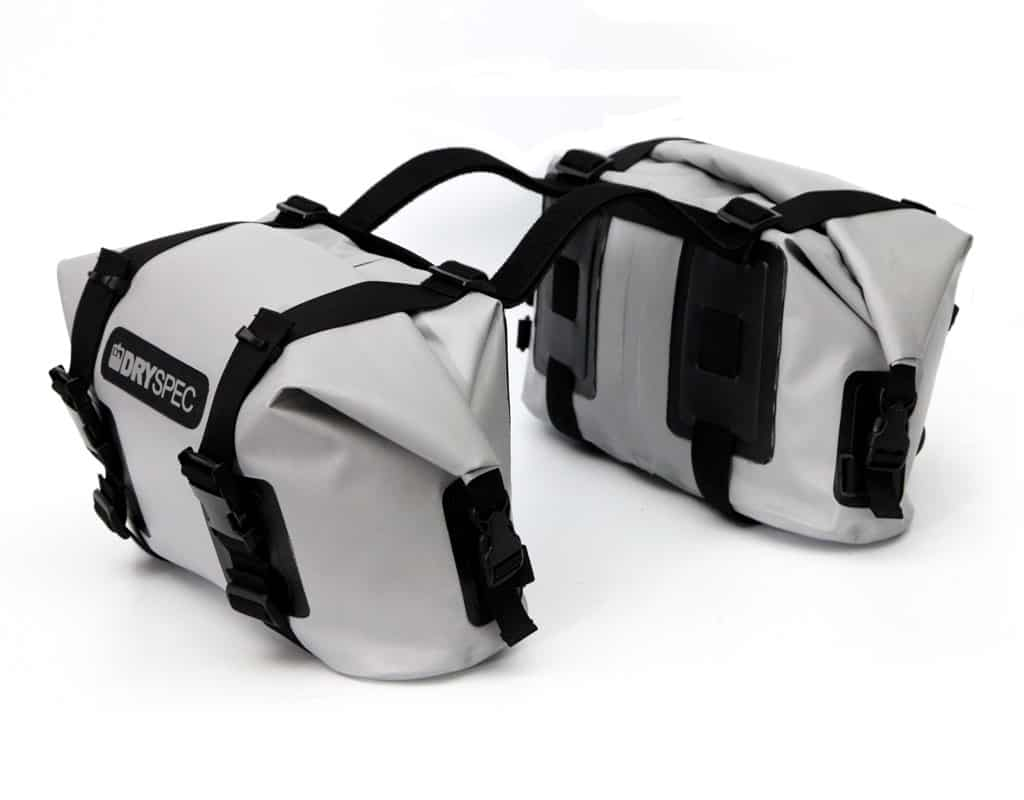 D20 Dry Bag Saddlebag Set Black